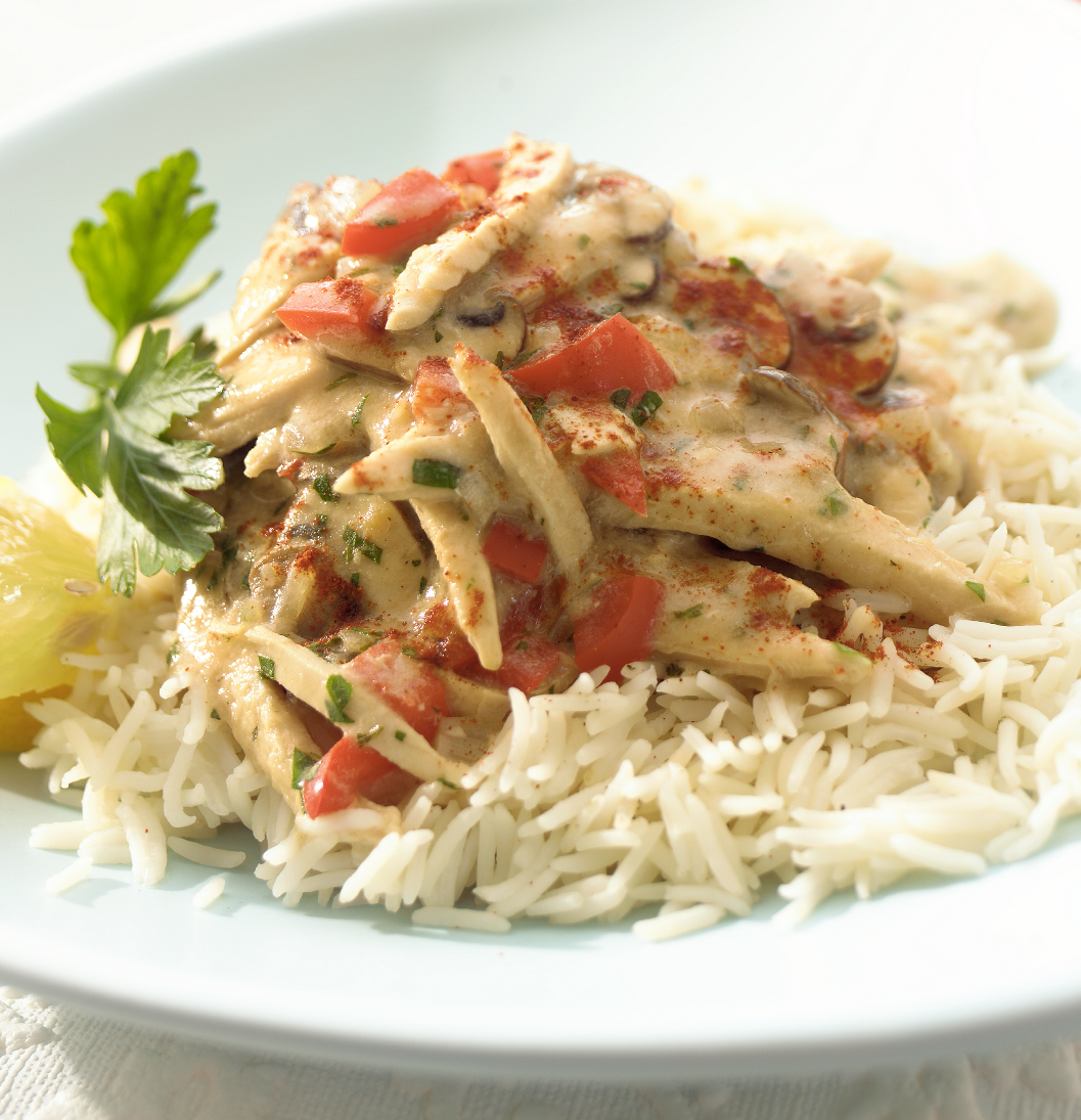 Turkey & Pepper Stroganoff