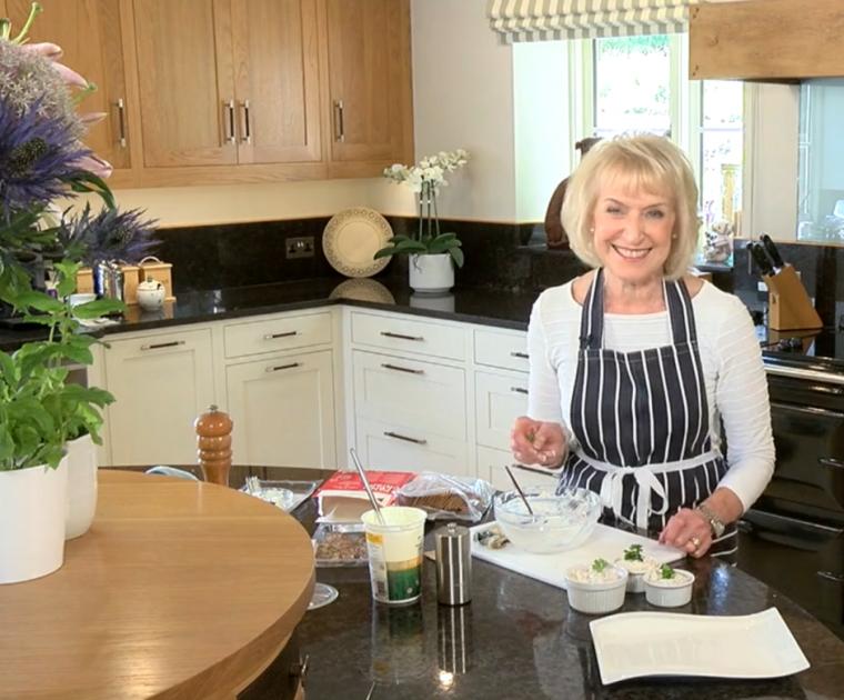 Rosemary Conley prepares Mackeral Pate