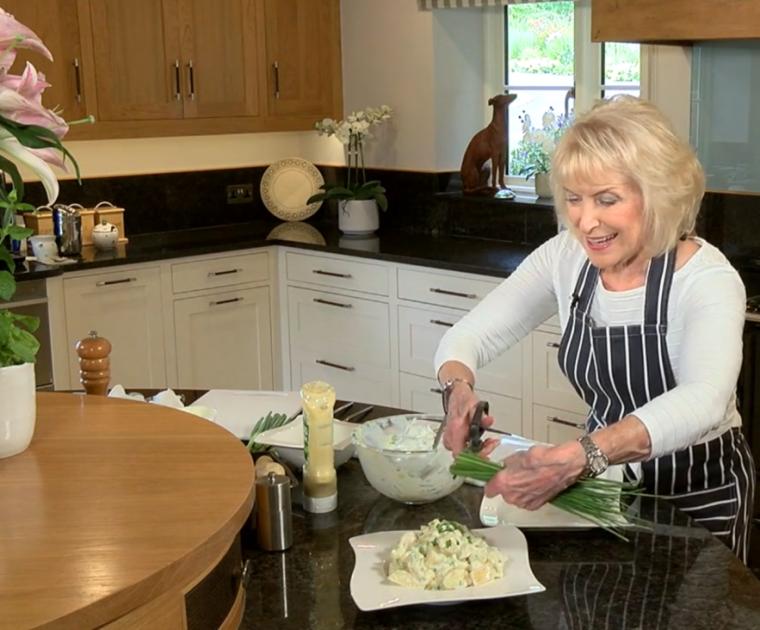 Rosemary Conley Making Potato Salad